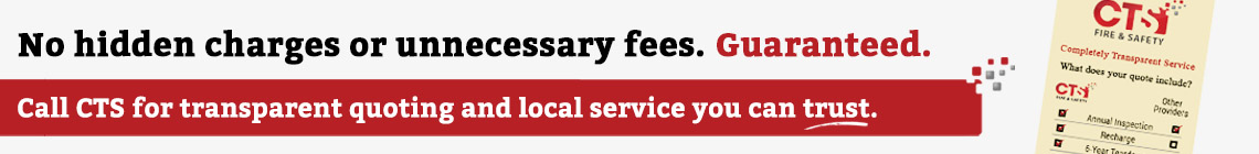 No hidden charges or unnecessary fees. Guaranteed. Call CTS for transparent quoting and local service you can trust.